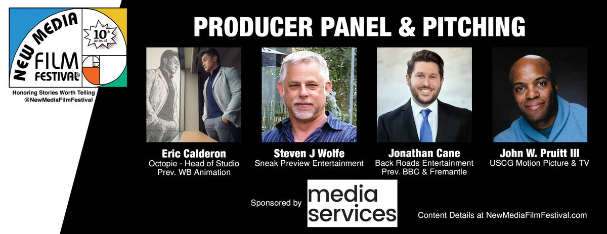 Producer panel and pitching