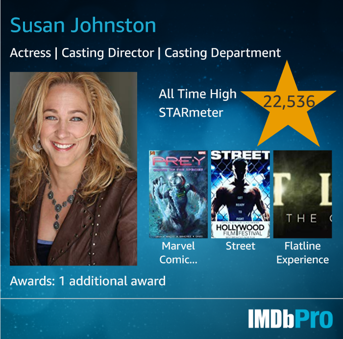 Susan Johnston - Founder/Director New Media Film Festival